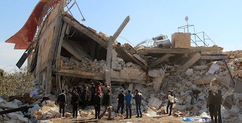Syria Relief Condemns Cluster Munitions
